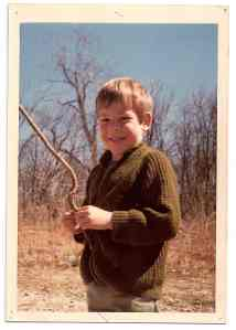 Tim Gill as a child