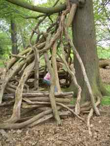 Den in Richmond Park, London