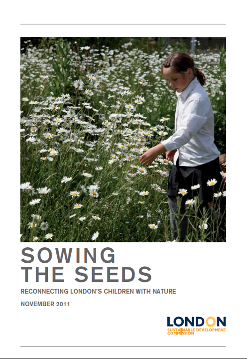 Sowing the seeds report front cover