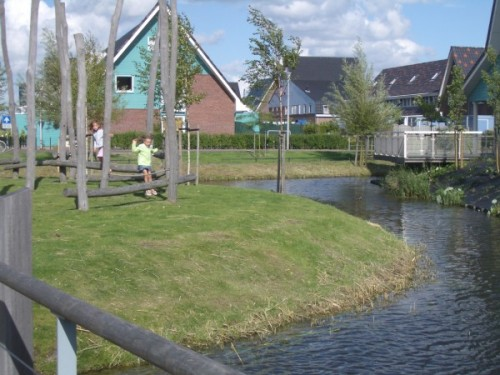 Dutch waterside playground