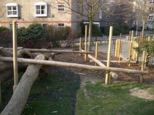 Elm Village play structure