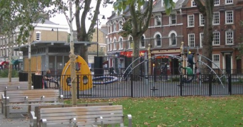 Newington Green playground