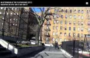 NYC playground video screenshot