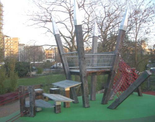 Spa Fields play structure