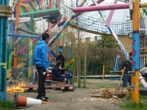 Glamis Adventure Playground fire