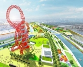 Queen Elizabeth Olympic Park aerial concept