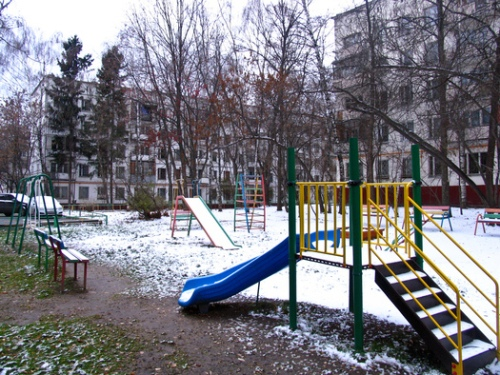Moscow playground