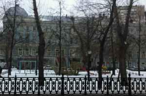 Moscow playground