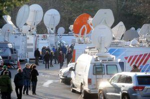Newtown media circus