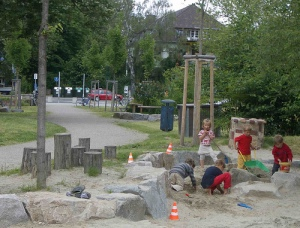 Sandpit in Vauban