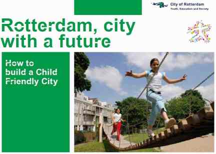 Rotterdam child-friendly city report cover