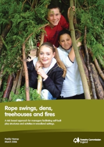 Forestry Commission rope swings report cover