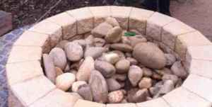 Rocks in a well