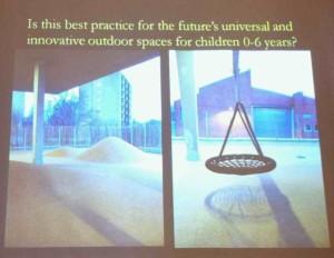 Photo of kindergarten outdoor space