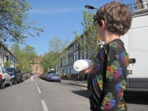 Boy in street