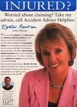 Accident helpline ad