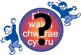 Play Wales logo and question mark