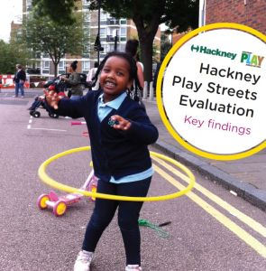 Hackney play streets report cover