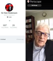 Sir Ken Robinson speaks on outdoor play