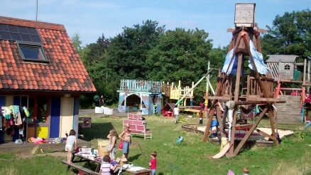 An adventure playground in Hackney