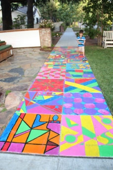 Playborhood sidewalk (taken from the website)