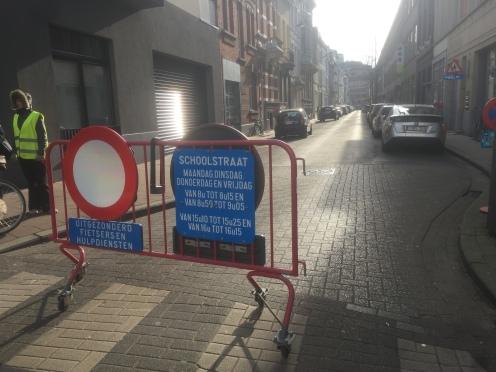 Antwerp school street