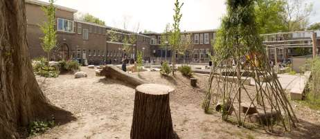 Al Ghazali School playground - after