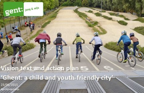 Ghent Child Friendly Action Plan cover