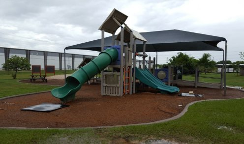 Parish School fixed equipment playground