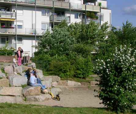 Playground, Rieselfeld, Freiburg