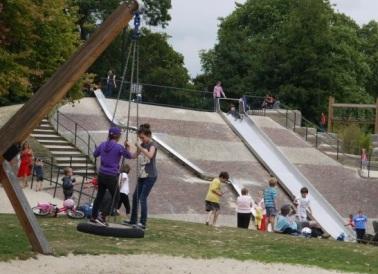 Pools Playground, Victoria Park, London