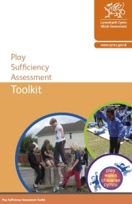 Cover of Welsh Government play sufficiency toolkit