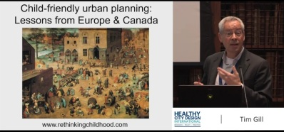 screengrab of Tim Gill `presentation