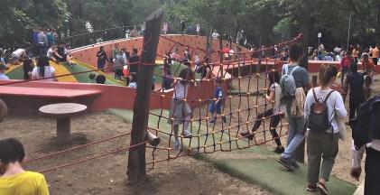 Tirana Grand Park playground