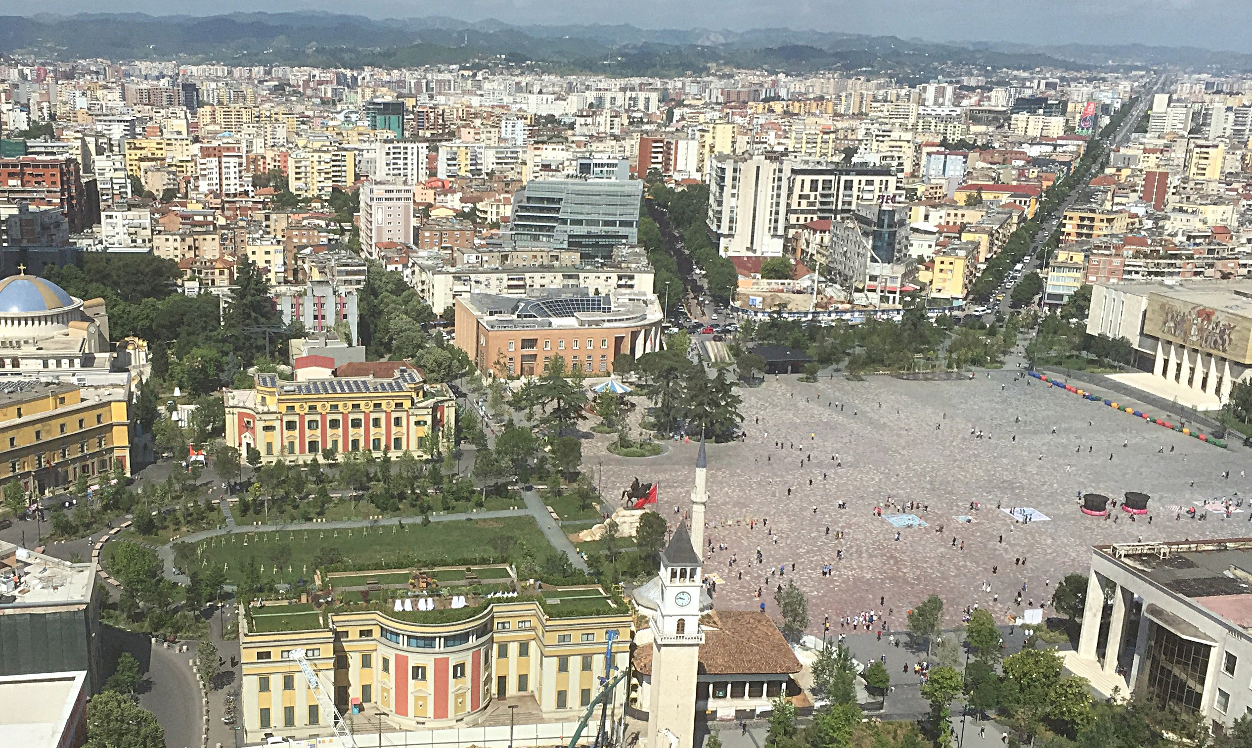 Skanderbeg Square, Tirana city centre
