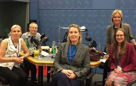 Panel for the Radio 4 programme Bringing Up Britain, July 2019