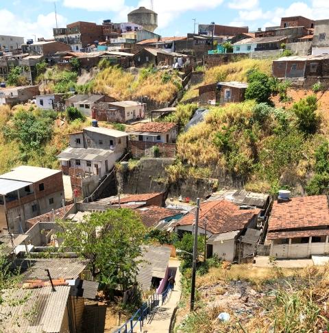 Alto San Terezinha, a hillside favela in Recife