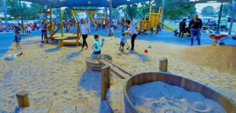 Bnei Nap park after refurbishment.