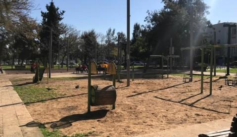 Bnei Nap park before refurbishment.