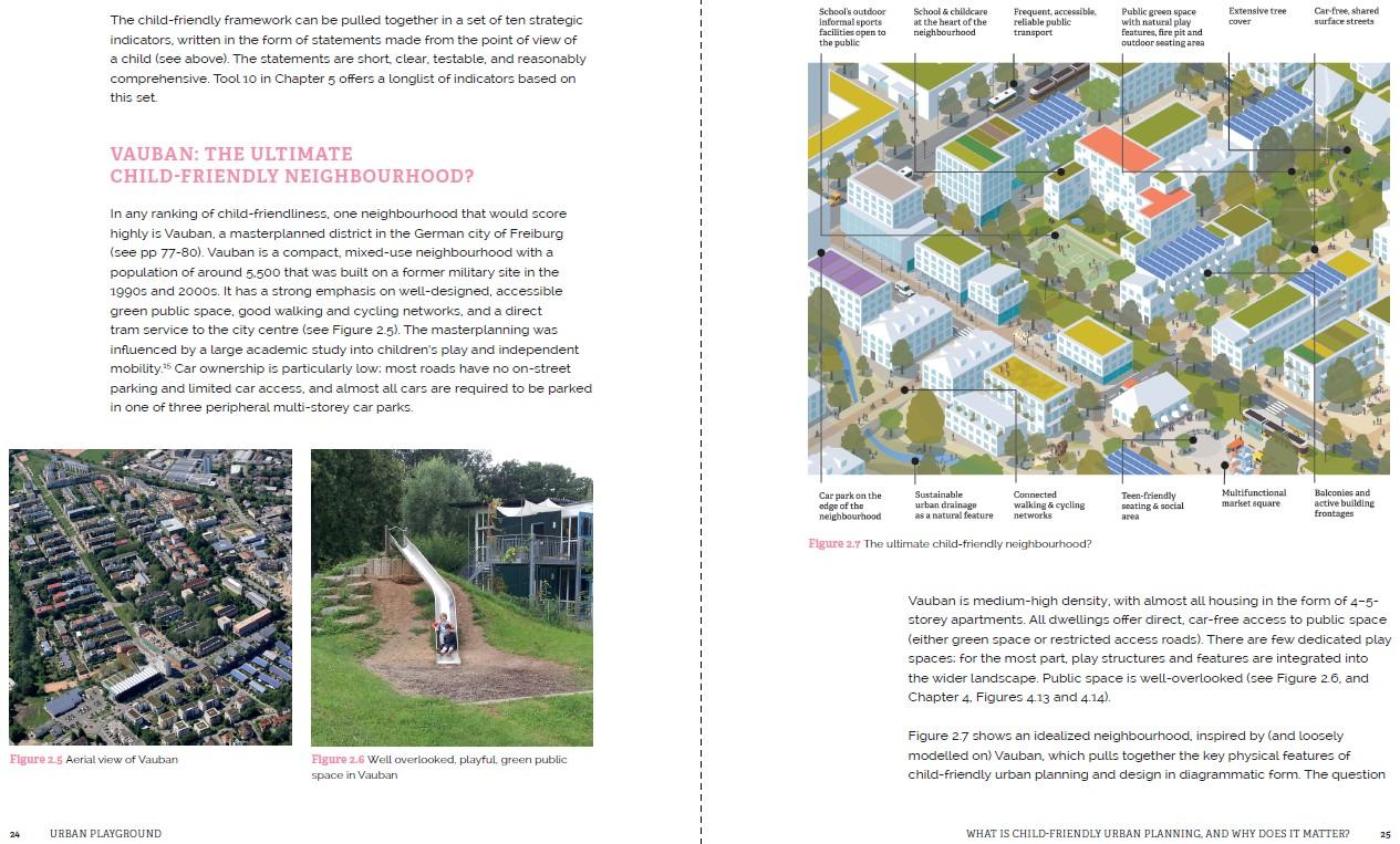 Vauban ultimate child-friendly neighbourhood 2 page spread