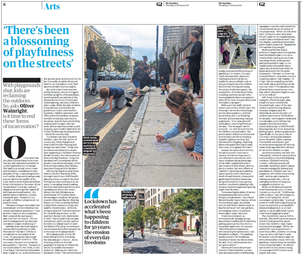 Screenshot of Guardian article by Oliver Wainwright